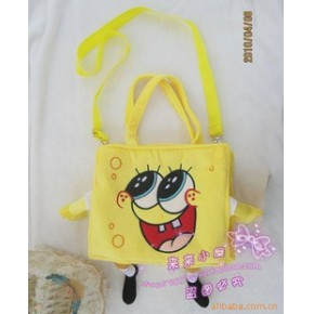 SpongeBob海绵宝宝/儿童包/单肩挎包 大号