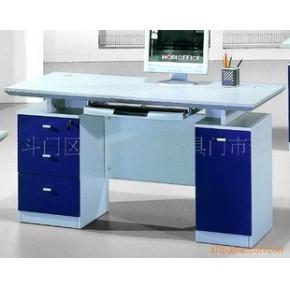 珠海电脑台打字台文员台简单办公台职员台胶板家具