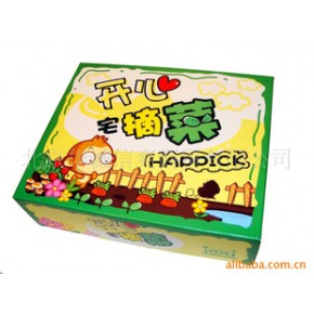 开心宅摘菜桌面游戏 偷菜主题游戏