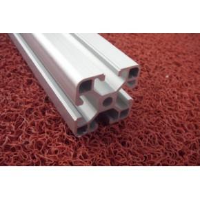 厦门工业铝型材 尼龙蹄脚 合页 铝型材 角码铝型材框架制作