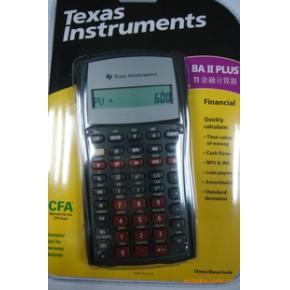 美国德州仪器金融计算器 TI-BAII plus