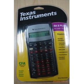 ti instruments ba ii plus