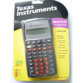 CHFP专用计算器BA II PLUS