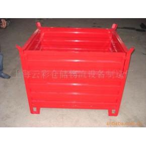 定制与加工铁板箱 可堆式周转箱