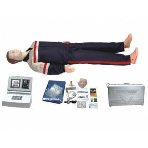 高级移动显示自动电脑心肺复苏模拟人 医学模型 急救模型