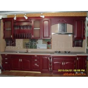 壁橱橱柜样柜特价出售7500元/套 百林橱柜实木