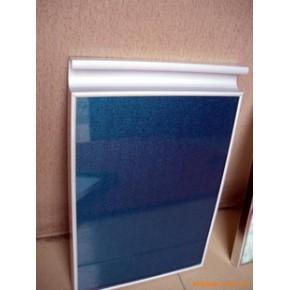 晶钢门拉手 铝板材 钢化玻璃