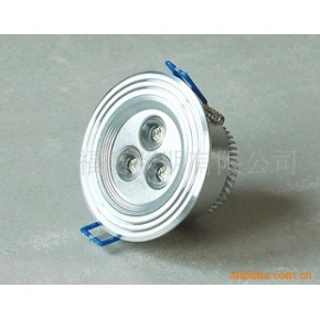 LED筒灯3*1W led灯