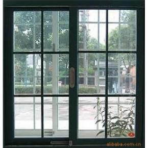 正宗凤铝黑色788型号1.4厚宽轨道单层玻璃