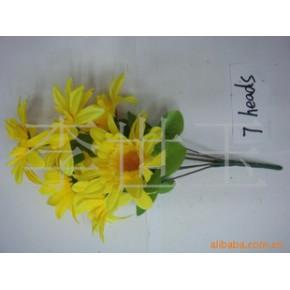 长期批发供应各种塑料花,仿真花,人造花,绢花。假花欢迎来样订做