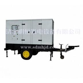 明恒低噪音系列柴油发电机组,明恒静音发电机组,应急电源