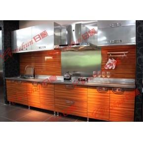 不锈钢橱柜设备 欧式不锈钢橱柜 东营不锈钢台面整体橱柜