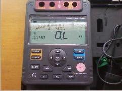 绝缘电阻测试仪 扬州市佳乐电力设备厂