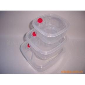 方形苹果扣微波盒 合裕 塑料