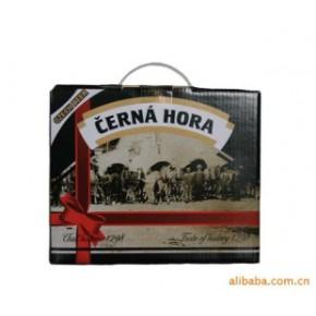 捷克原装进口啤酒 礼盒装 CERNA HORA