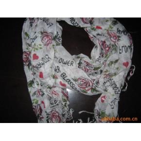 【2010网上热卖新流行款】棉质-围巾