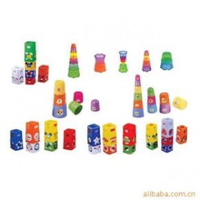 套碗玩具 全塑 48件/套(cm)