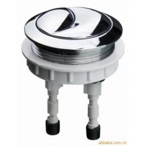 水箱配件-58毫米双按镀铬按钮