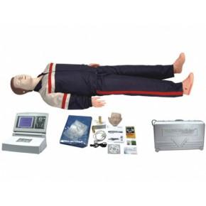 高级大屏幕液晶彩显全自动电脑心肺复苏模拟人 医学教学模型 急救模型