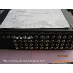 十六路音视频放大分配器,音视频分配器