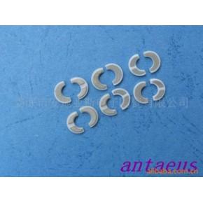 可控硅陶瓷镀镍月牙片 氧化铝陶瓷