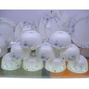 景德镇陶瓷 56头韩国骨质瓷餐具套装组—暗香