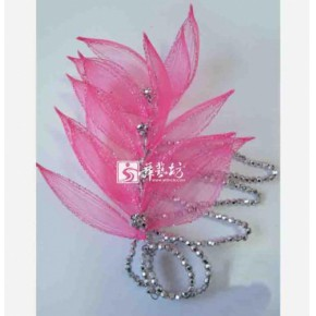 福州舞蹈服装头花 演出服装头饰 批发零售