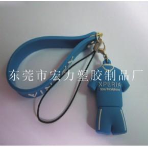 PVC软胶手机吊饰,塑胶手机吊饰