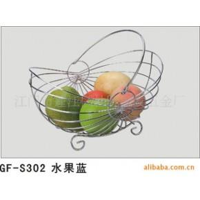 专业生产批发铁线工艺制品家居用品款式新颖的水果篮.多用置物架