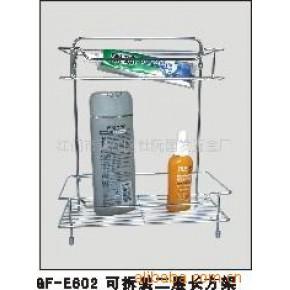 铁线工艺制品可拆装置物层架、浴室架金属品