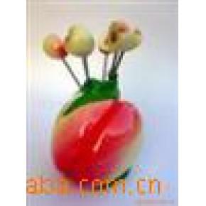 水果叉 水果叉 合成树脂