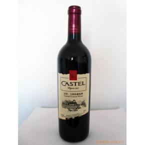 法国进口红酒法国卡斯特葡萄酒