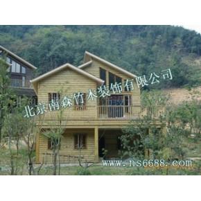 木质别墅、木屋制作、轻型木结构房屋、木结构房屋
