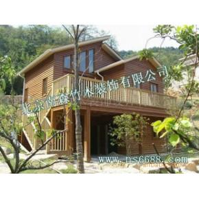 北美木屋、建筑装修工程施工、木结构生产安装、