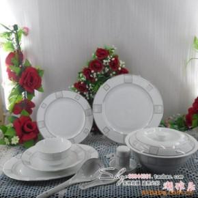 景德镇 56头优质骨瓷餐具 春之窗