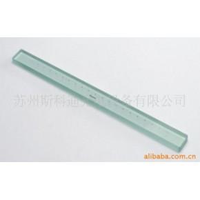 二等200mm标准玻璃线纹尺