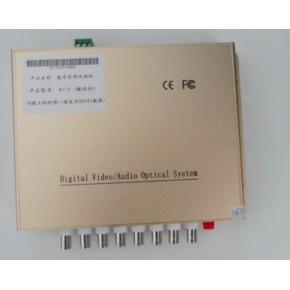 单路视频光端机带反向数据 FC光纤接口 500一套 3年保修