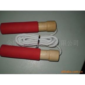 棉绳轴承木柄跳绳 瑞发 木。