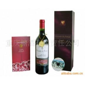 法国子爵红标干红葡萄酒 750(ml)
