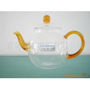 【优质】玻璃手工工艺壶HCHu-300-028黄