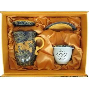 礼品杯茶杯 陶瓷杯子 办公杯过滤 茶杯批发