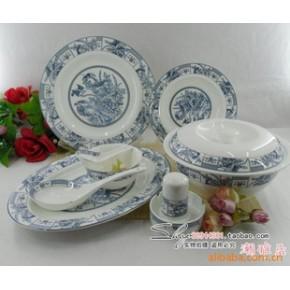 景德镇 56头优质骨瓷餐具釉中彩  报喜鸟