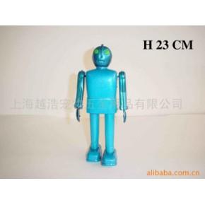 TF420铁皮玩具兰色机器人