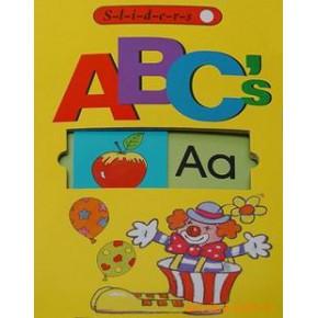 滑板书 Sliders ABC's  学字母 A、B、C