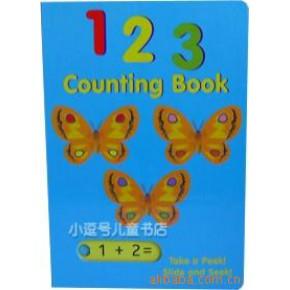 原版滑板书123 学算术书