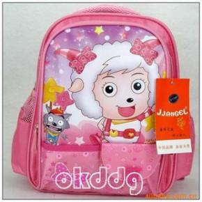 批发喜洋洋幼儿园中书包 喜羊羊书包2120桃红色