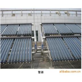上海星玲,桑普太阳能热水工程,热管太阳能热水工程