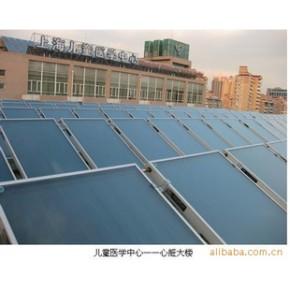 上海集热器,桑普太阳能热水工程,平板太阳能