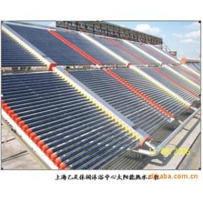 玻璃管太阳能热水工程,上海太阳能热水工程,太阳能