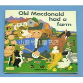 Old Macdonald Had a Farm 王老先生有块地是一本用钢板纸制作